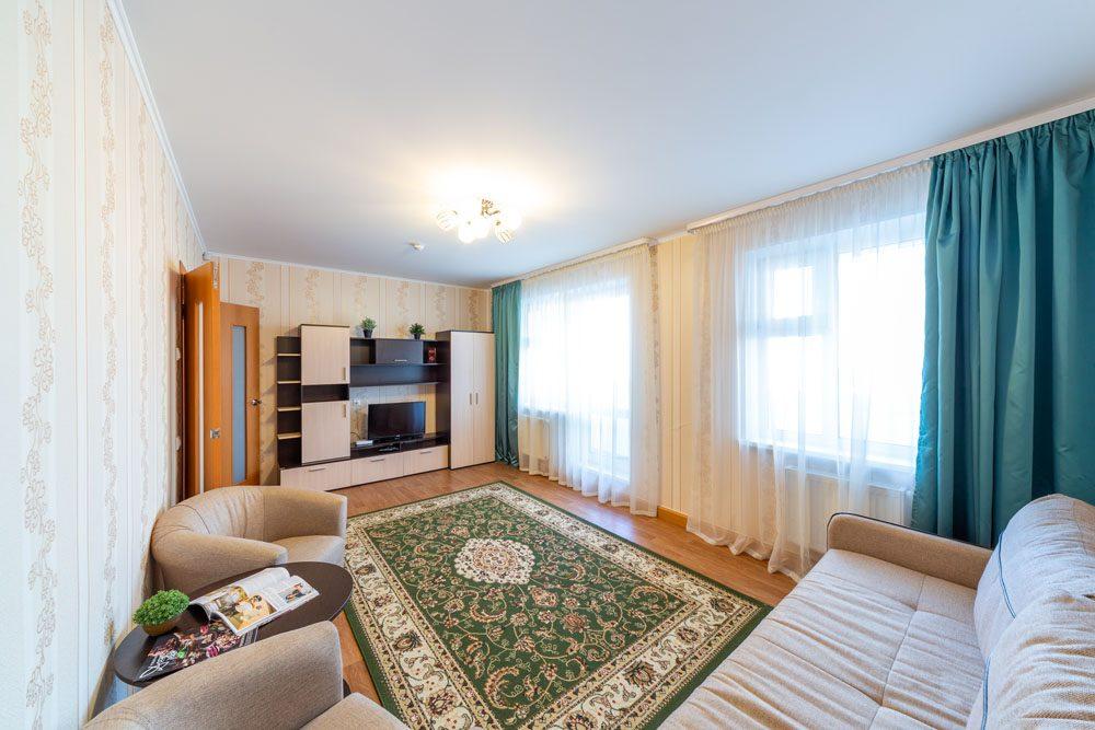 2-комнатные апартаменты с 2 местами