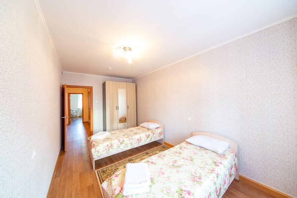 2-комнатные апартаменты с 4 местами